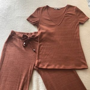 Other - Upscale lounge wear pant & top set